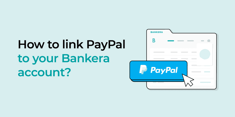 Learn how to link your Bankera account with PayPal in our tutorial.